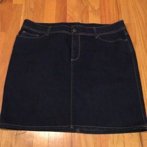 Old Navy Dark Jean Skirt